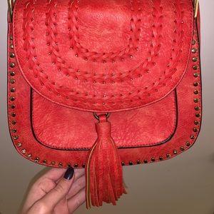 Vintage cross body boho bag